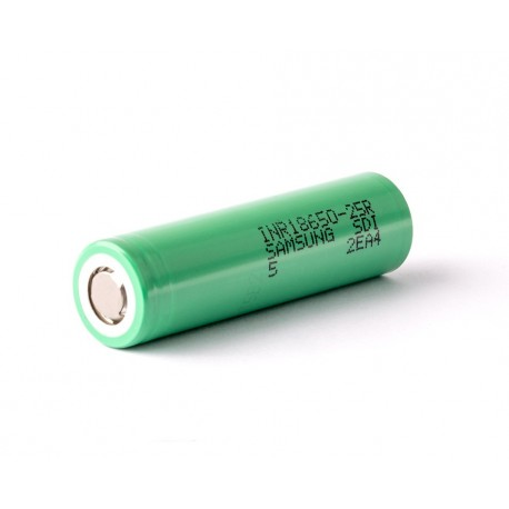 Samsung 25R 20A 2500mAh 18650 Battery - Midnight Vaper